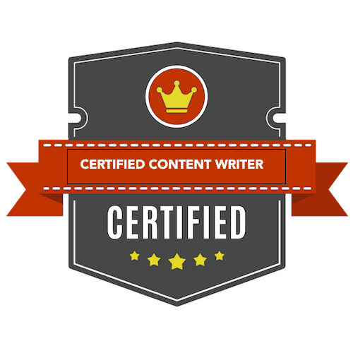 certified content writer